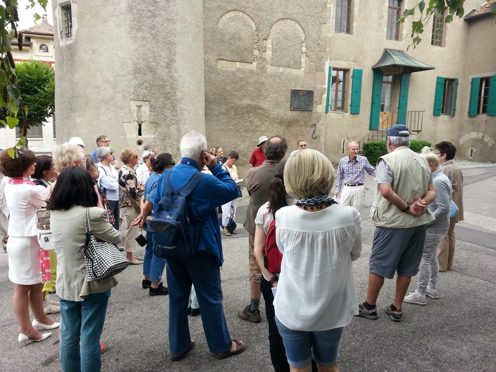 Patrimoine et environnement : Une visite au Moyen Age !