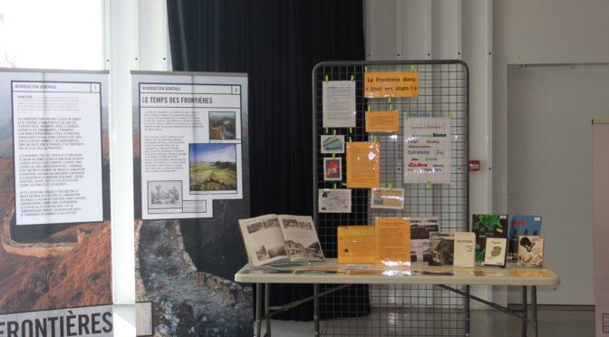 Exposition «Frontière.S» la  visite accompagnée