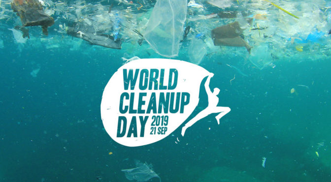 World Clean Up Day – 21 septembre 2019